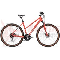 Bicicleta Cube Nature Trapeze Red/Grey 28' 2021