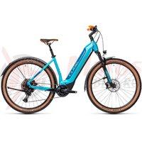 Bicicleta Cube Nuride Hybrid EXC 625 Allroad Easy Entry Petrol/Blue 2021