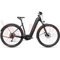 Bicicleta Cube Nuride Hybrid Performance 625 Allroad Easy Entry Black/Novablue 2021