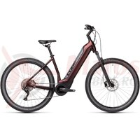 Bicicleta Cube Nuride Hybrid Pro 500 Allroad Easy Entry Berry/Grey 2021