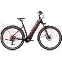 Bicicleta Cube Nuride Hybrid Pro 625 Allroad Easy Entry Berry Grey 2021