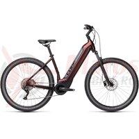 Bicicleta Cube Nuride Hybrid Pro 625 Easy Entry Berry/Grey 2021