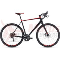 Bicicleta Cube Nuroad black/red 2018
