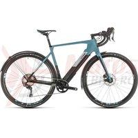 Bicicleta Cube Nuroad Hybrid C:62 SL blue/blue 2020