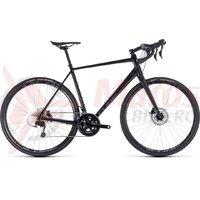Bicicleta Cube Nuroad Pro black/grey 2018