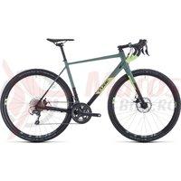 Bicicleta Cube Nuroad Pro Black/Sharpgreen 2020