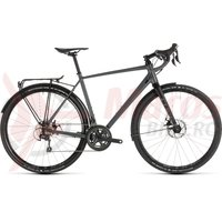 Bicicleta Cube Nuroad Pro FE Grey/Black 2019