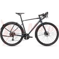 Bicicleta Cube Nuroad Race FE Grey/Black 2021