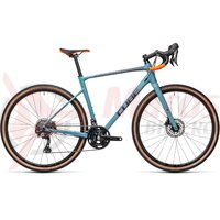 Bicicleta Cube Nuroad Race Greyblue/Orange 2021