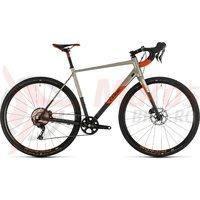 Bicicleta Cube Nuroad SL Titanium/Orange 2020