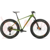 Bicicleta Cube Nutrail Green/Orange 2020