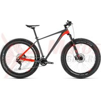 Bicicleta Cube Nutrail Grey/Flashred 2019