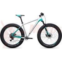 Bicicleta Cube Nutrail Pro raw/mint 2017