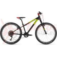 Bicicleta Cube Reaction 240 SL Black/Red/Green 2019