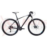Bicicleta Cube Reaction GTC Pro 29 negru gri alb 2015 C