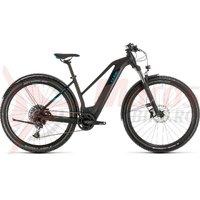 Bicicleta Cube Reaction Hybrid EX 500 Allroad 29' Trapeze black/blue 2020