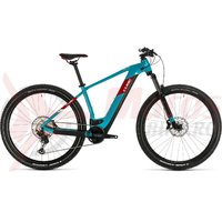 Bicicleta Cube Reaction Hybrid EXC 625 29 petrol/red 2020
