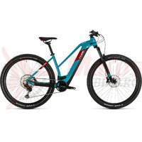 Bicicleta Cube Reaction Hybrid EXC 625 29 Trapeze petrol/red 2020