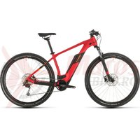 Bicicleta Cube Reaction Hybrid One 500 27.5' red/orange 2020