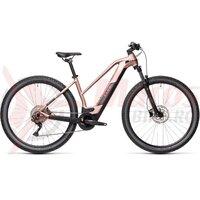 Bicicleta Cube Reaction Hybrid One 500 29' Trapeze Blushmetallic/Grey 2021