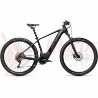 Bicicleta Cube Reaction Hybrid One 625 29' Black/Blue 2021