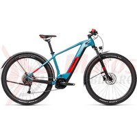 Bicicleta Cube Reaction Hybrid Performance 400 Allroad 29' Blue Red 2021
