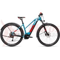 Bicicleta Cube Reaction Hybrid Performance 400 Allroad Trapeze 27.5' Blue/Red 2021