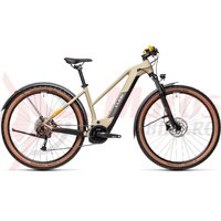 Bicicleta Cube Reaction Hybrid Performance 400 Allroad Trapeze 29' Desert/Orange 2021