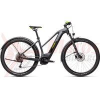 Bicicleta Cube Reaction Hybrid Performance 400 Allroad Trapeze 29' Iridium/Green 2021