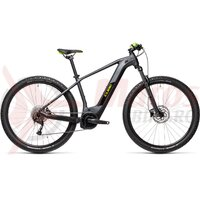Bicicleta Cube Reaction Hybrid Performance 500 27.5' Iridium/Green 2021