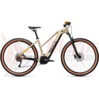 Bicicleta Cube Reaction Hybrid Performance 500 27.5' Trapeze Desert/Orange 2021