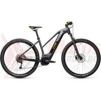 Bicicleta Cube Reaction Hybrid Performance 625 Trapeze 27.5' Iridium/Green 2021