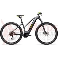 Bicicleta Cube Reaction Hybrid Performance 625 Trapeze 29' Iridium/Green 2021