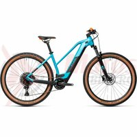 Bicicleta Cube Reaction Hybrid Pro 500 27.5' Trapeze Petrol/Orange 2021