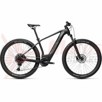 Bicicleta Cube Reaction Hybrid Pro 500 29' Black/Grey 2021