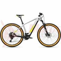 Bicicleta Cube Reaction Hybrid Pro 500 29' Grey/Yellow 2021