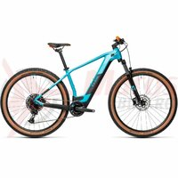 Bicicleta Cube Reaction Hybrid Pro 500 29' Petrol/Orange 2021