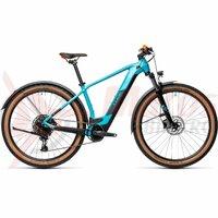 Bicicleta Cube Reaction Hybrid Pro 500 Allroad 29' Petrol/Orange 2021