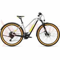 Bicicleta Cube Reaction Hybrid Pro 500 Allroad 29' Trapeze Grey/Yellow 2021