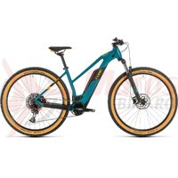 Bicicleta Cube Reaction Hybrid Pro 500 Trapeze 27.5' pinetree/orange 2020