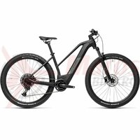 Bicicleta Cube Reaction Hybrid Pro 625 29' Trapeze Black/Grey 2021