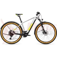 Bicicleta Cube Reaction Hybrid Pro 625 Allroad Grey/Yellow 2021
