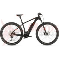 Bicicleta Cube Reaction Hybrid Race 500 27.5' black/red 2020