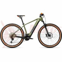 Bicicleta Cube Reaction Hybrid Race 625 29' Green/Orange 2021
