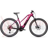 Bicicleta Cube Reaction Hybrid Race 625 29' Trapeze Berry/Black  2021