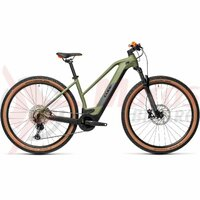 Bicicleta Cube Reaction Hybrid Race 625 29' Trapeze Green/Orange 2021