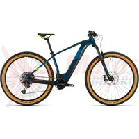 Bicicleta cube Reaction Hybrid SL 625 29' blue/yellow 2020