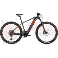 Bicicleta Cube Reaction Hybrid SL 625 29' grey/orange 2020