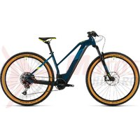 Bicicleta Cube Reaction Hybrid SL 625 29' Trapeze blue/yellow 2020