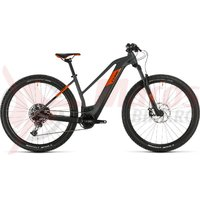 Bicicleta Cube Reaction Hybrid SL 625 29' Trapeze grey/orange 2020